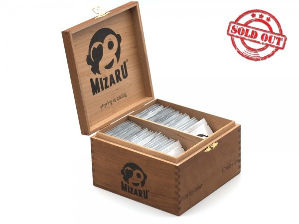mizaru ® ENERGY POWDER   miza diplomat   Geburtstagsgeschenk   Zigarrenbox   50 Stk.